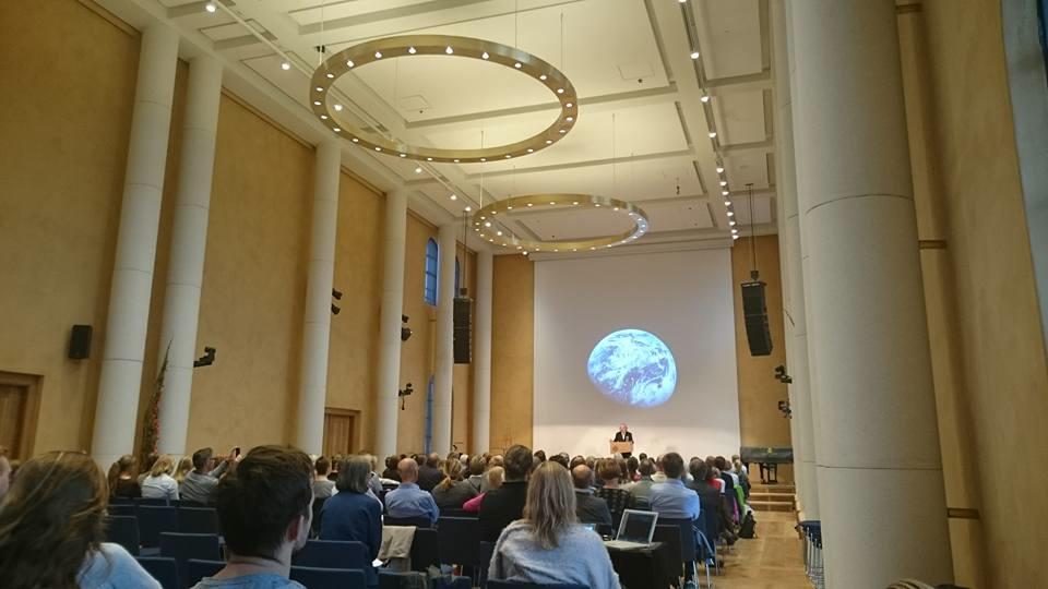 Key note speaker Professor Terje Tvedt